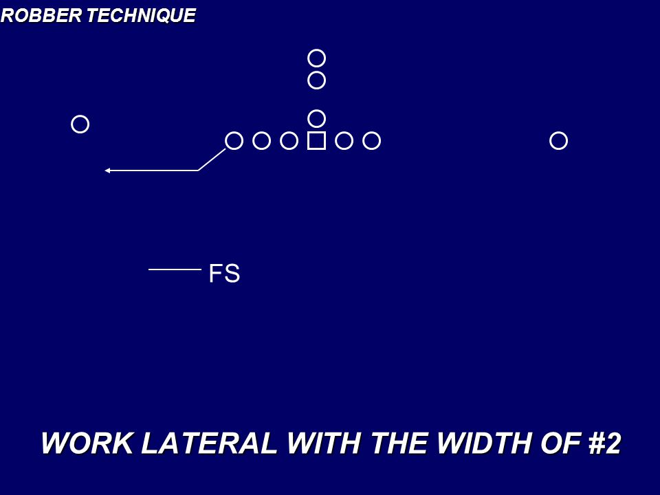 WORK LATERAL WITH THE WIDTH OF #2
