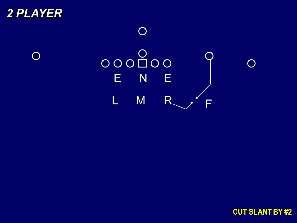 2 PLAYER E N E L M R F CUT SLANT BY #2