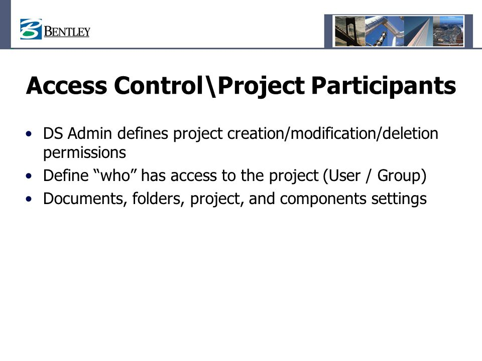 Access Control\Project Participants