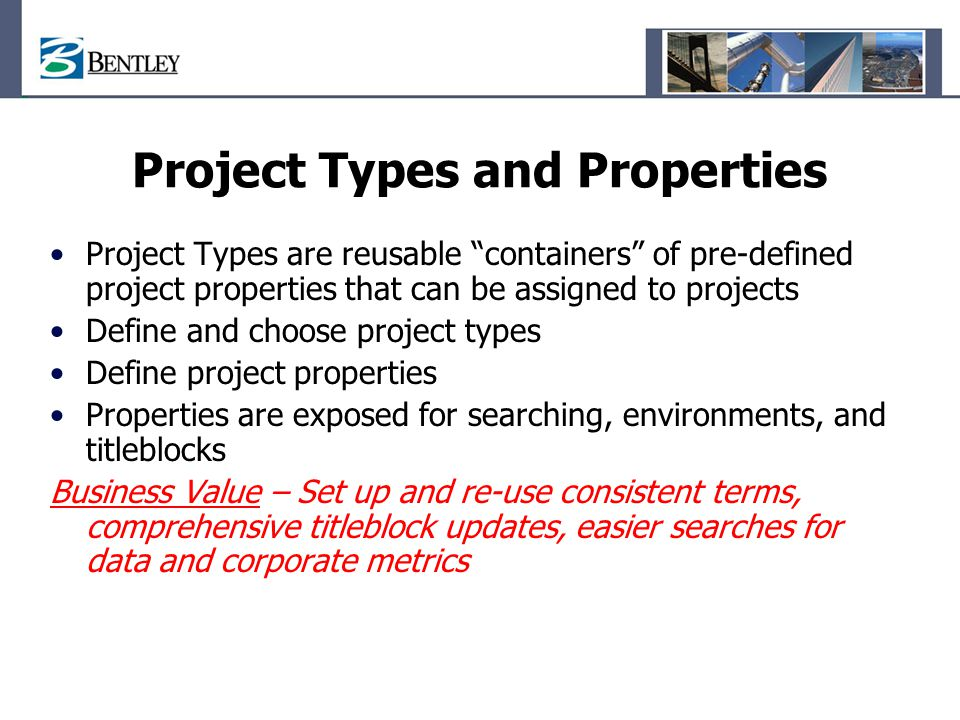 Project Types and Properties