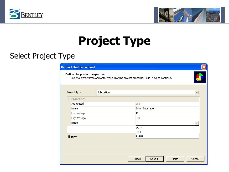 Project Type Select Project Type
