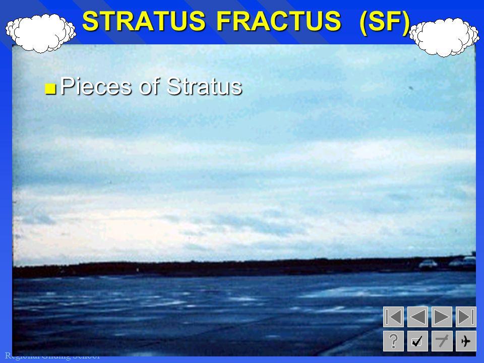 STRATUS FRACTUS (SF) Pieces of Stratus