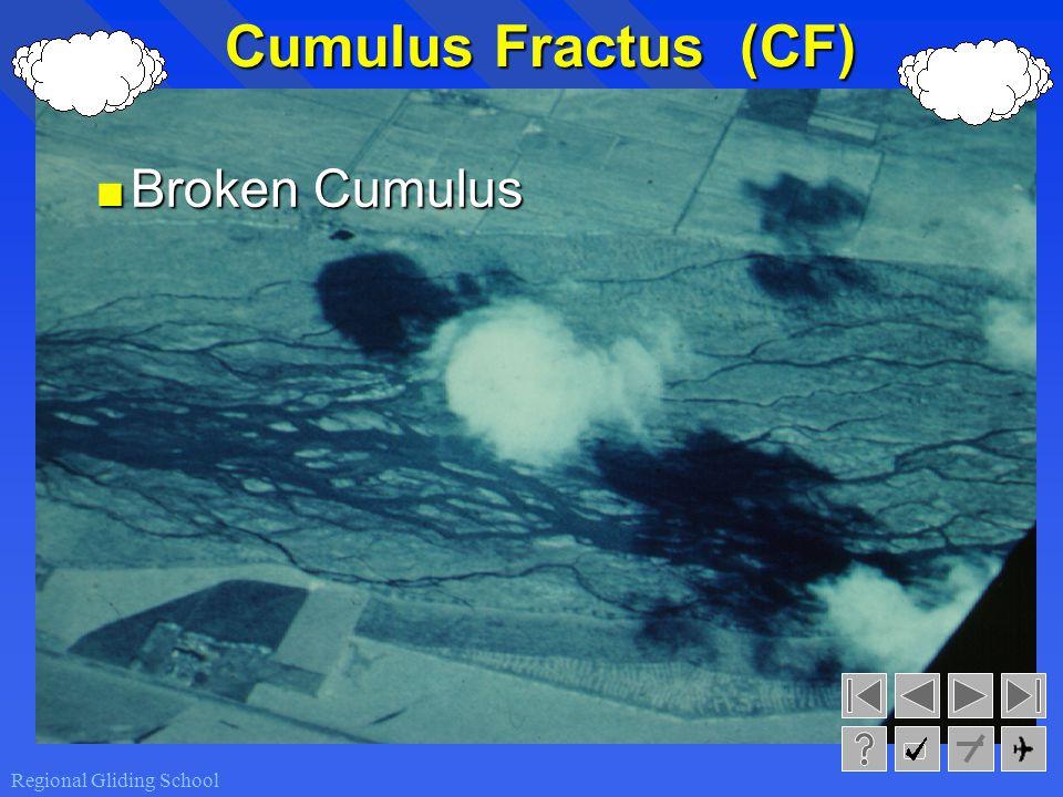 Cumulus Fractus (CF) Broken Cumulus