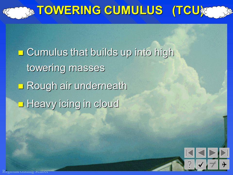 TOWERING CUMULUS (TCU)