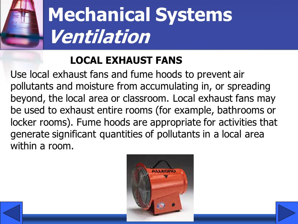 Mechanical Systems Ventilation
