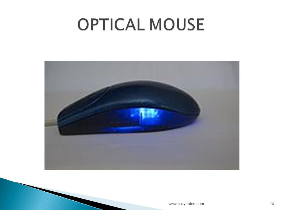 OPTICAL MOUSE www.eazynotes.com