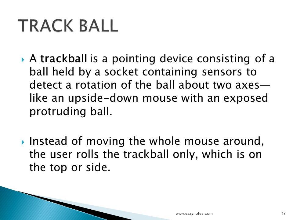TRACK BALL