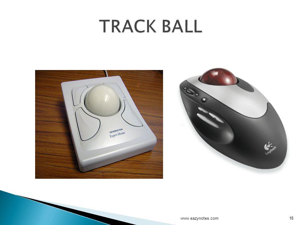 TRACK BALL www.eazynotes.com