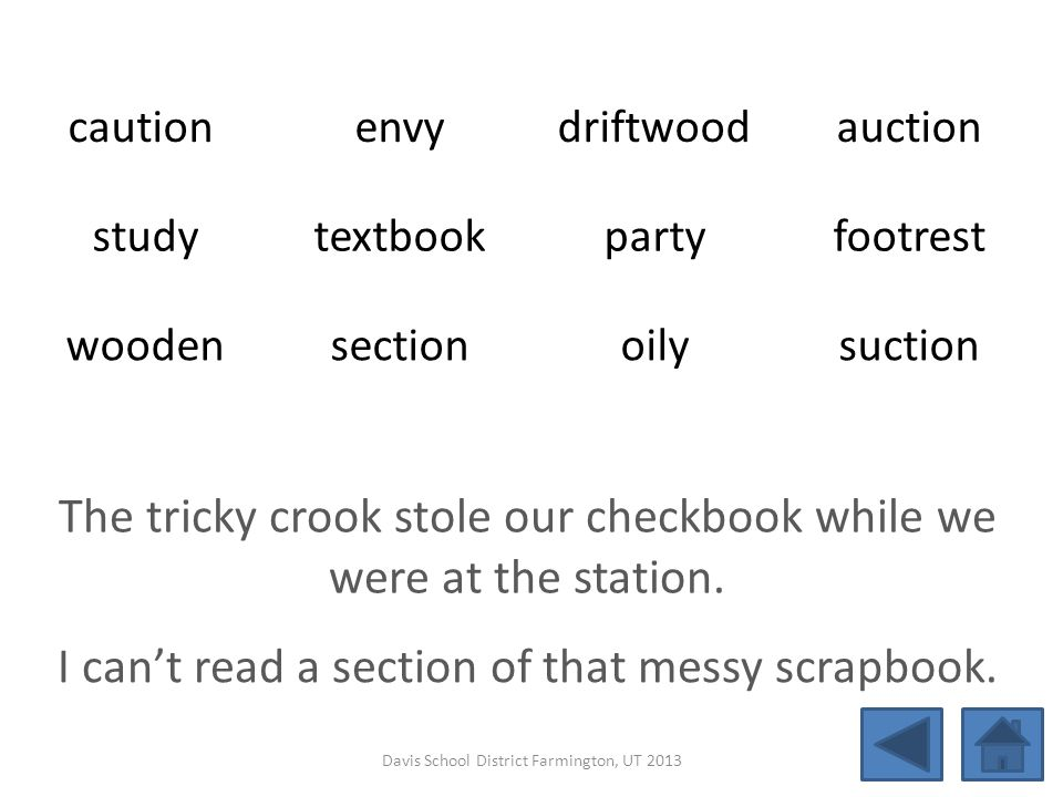 The tricky crook stole our checkbook while we were at the station.