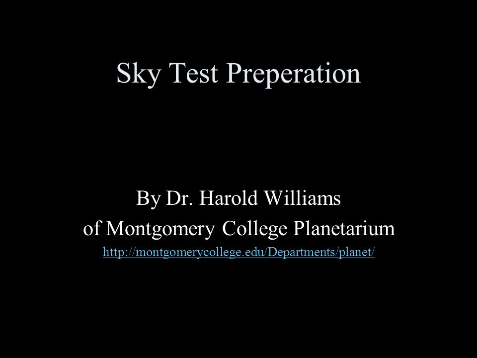 of Montgomery College Planetarium
