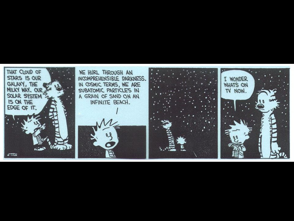 Calvin and Hobbs humor.
