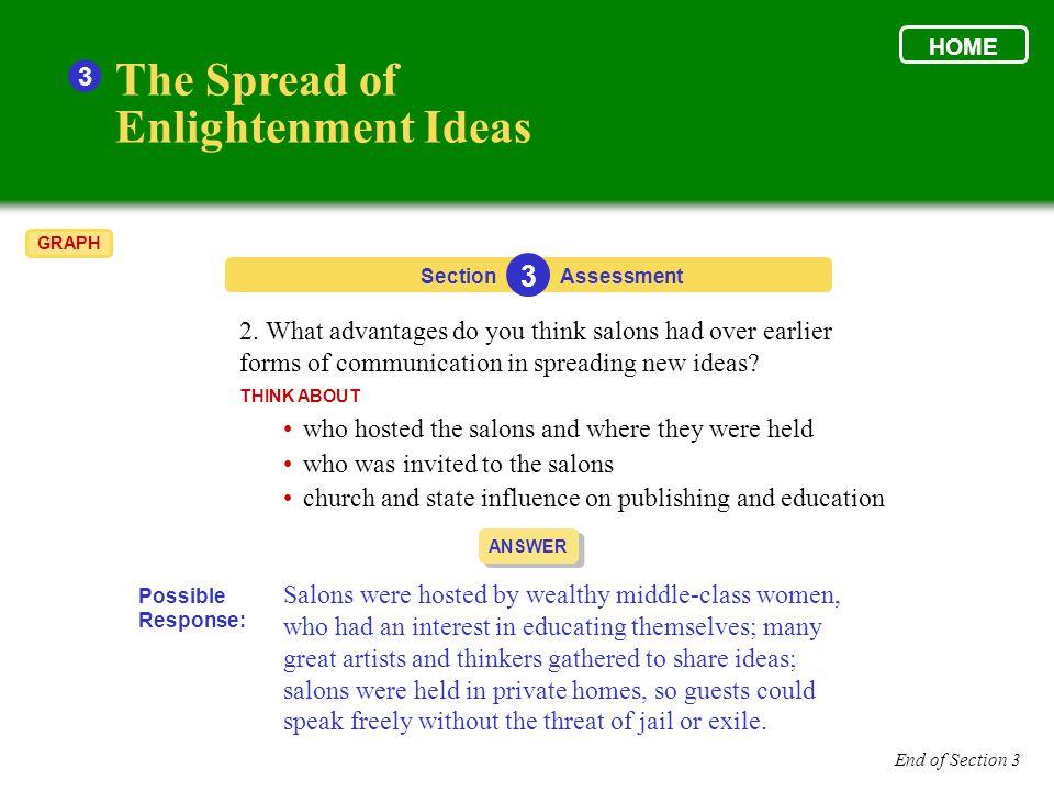The Spread of Enlightenment Ideas 3 3