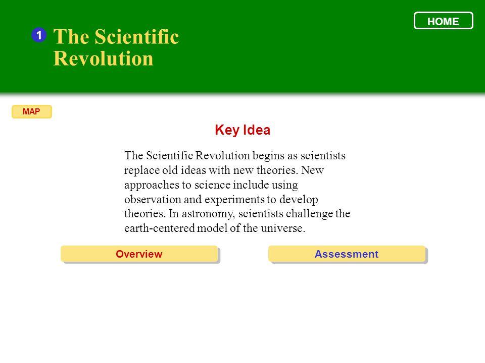 The Scientific Revolution Key Idea 1