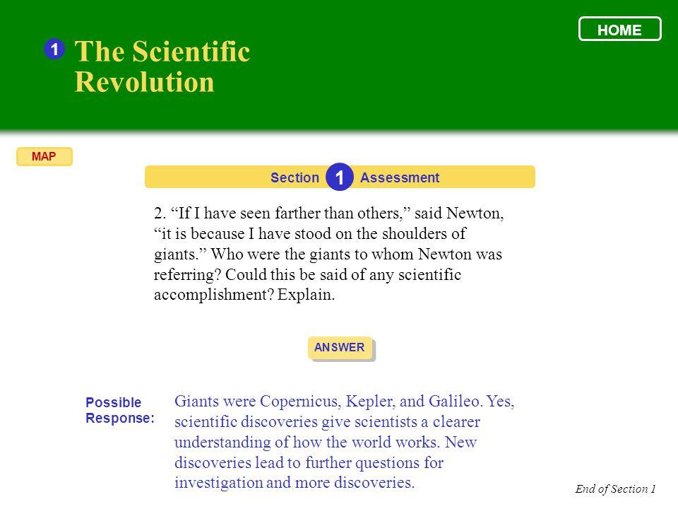The Scientific Revolution 1 1