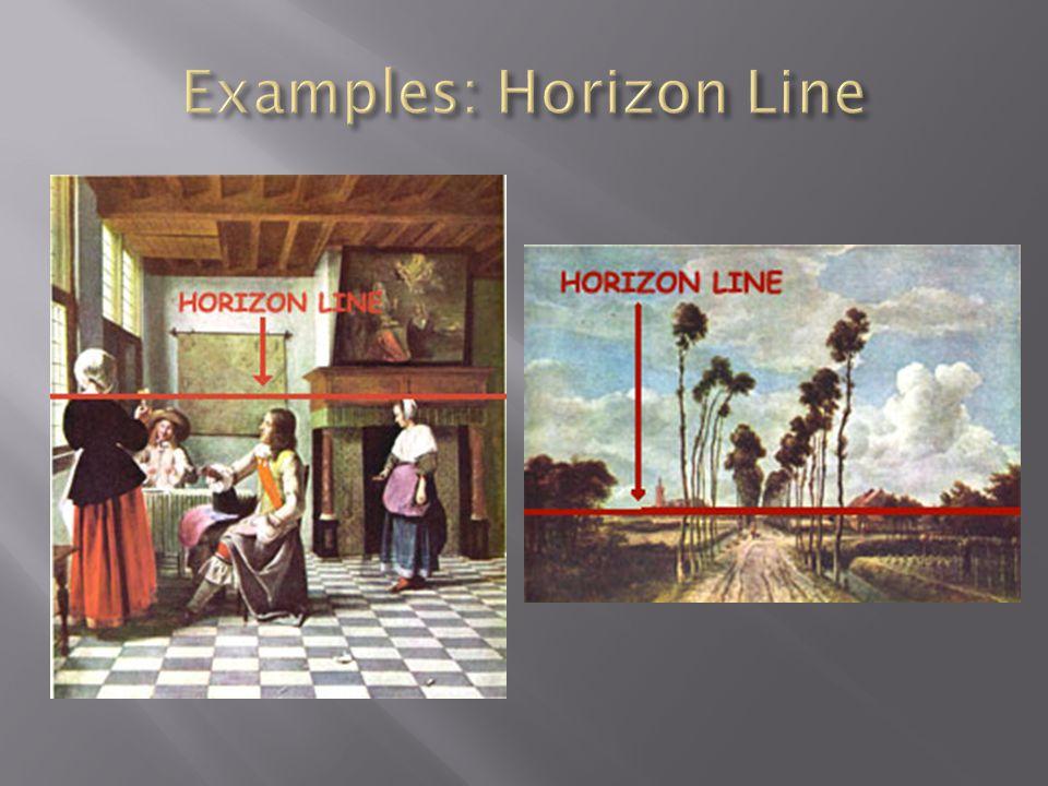 Examples: Horizon Line