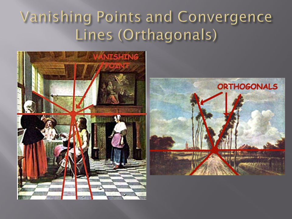 Vanishing Points and Convergence Lines (Orthagonals)