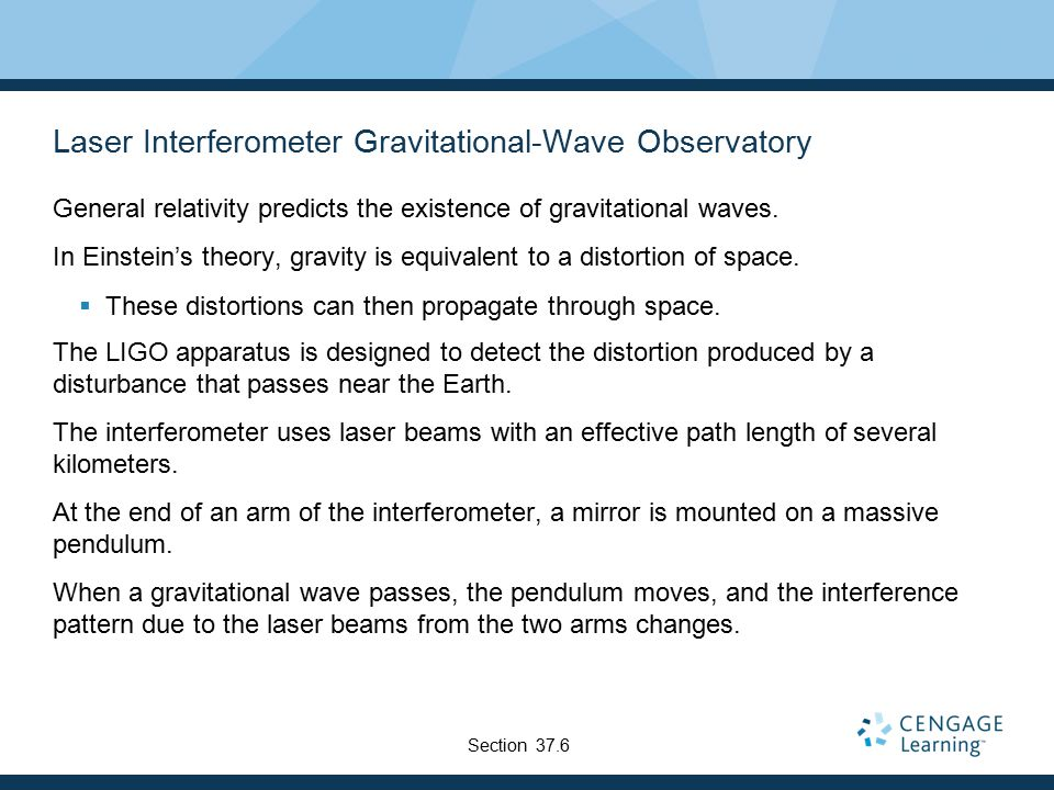 Laser Interferometer Gravitational-Wave Observatory