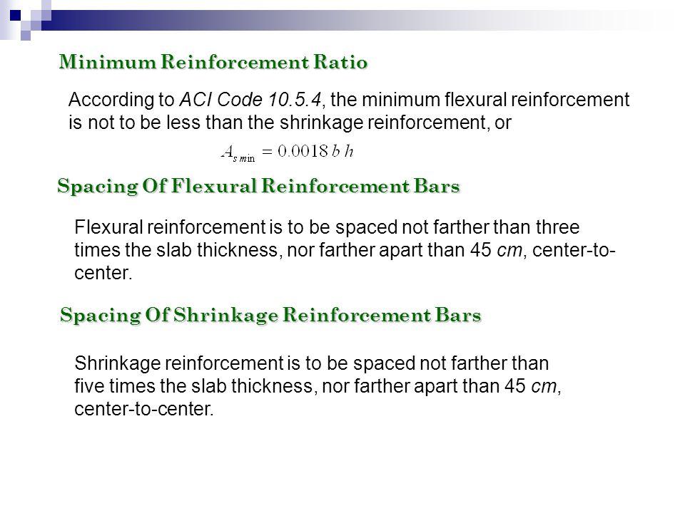 Minimum Reinforcement Ratio