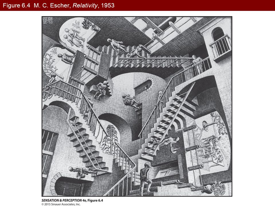 Figure 6.4 M. C. Escher, Relativity, 1953