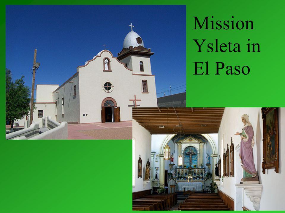 Mission Ysleta in El Paso