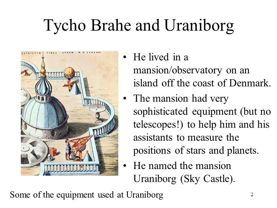 Tycho Brahe and Uraniborg