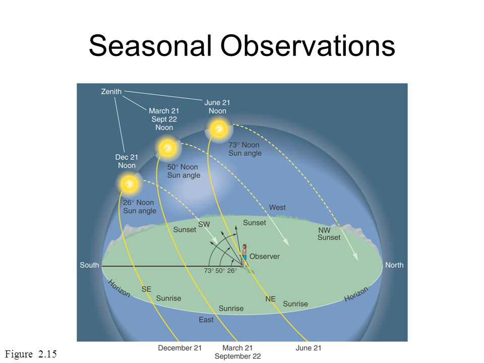 Seasonal Observations