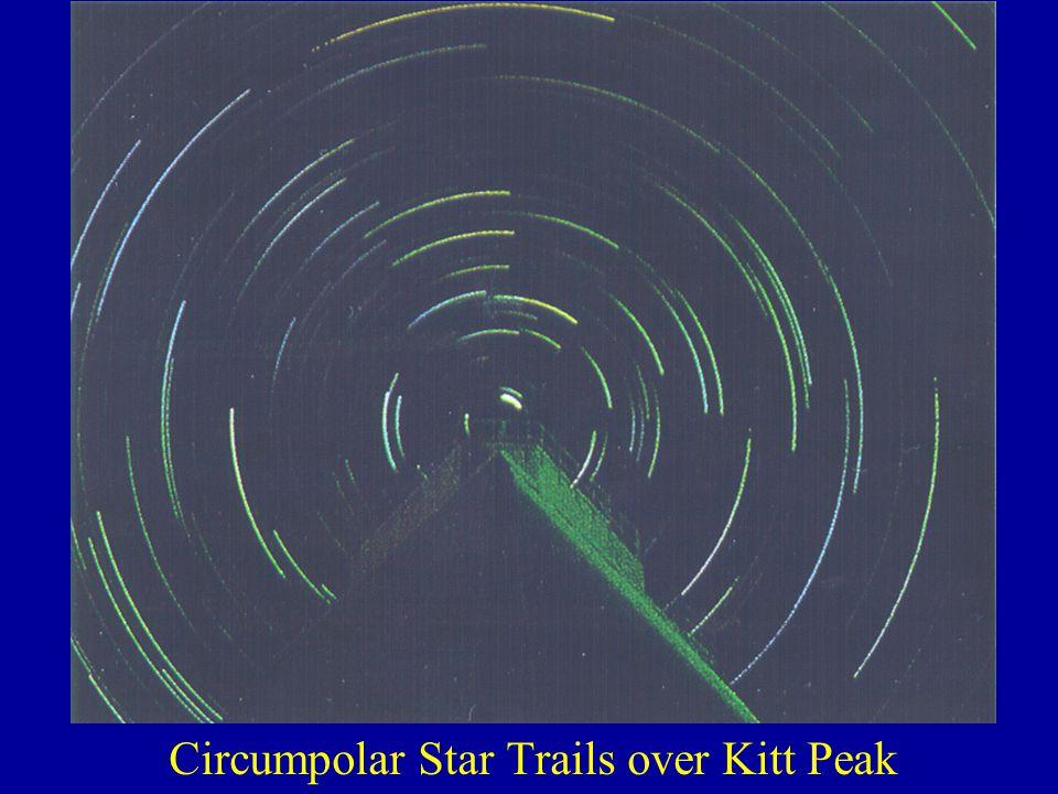 Circumpolar Star Trails over Kitt Peak