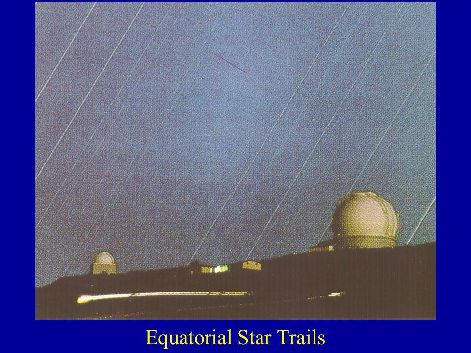 Equatorial Star Trails