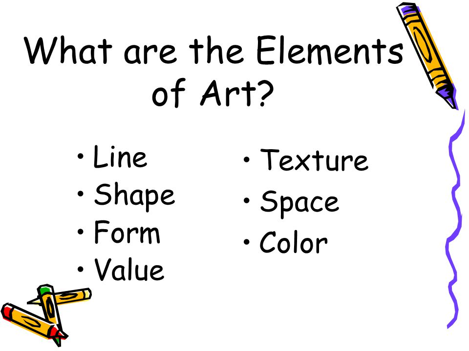 What are the Elements of Art