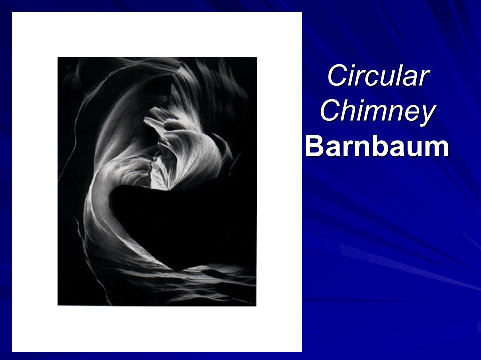 Circular Chimney Barnbaum