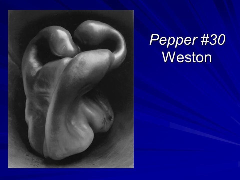 Pepper #30 Weston