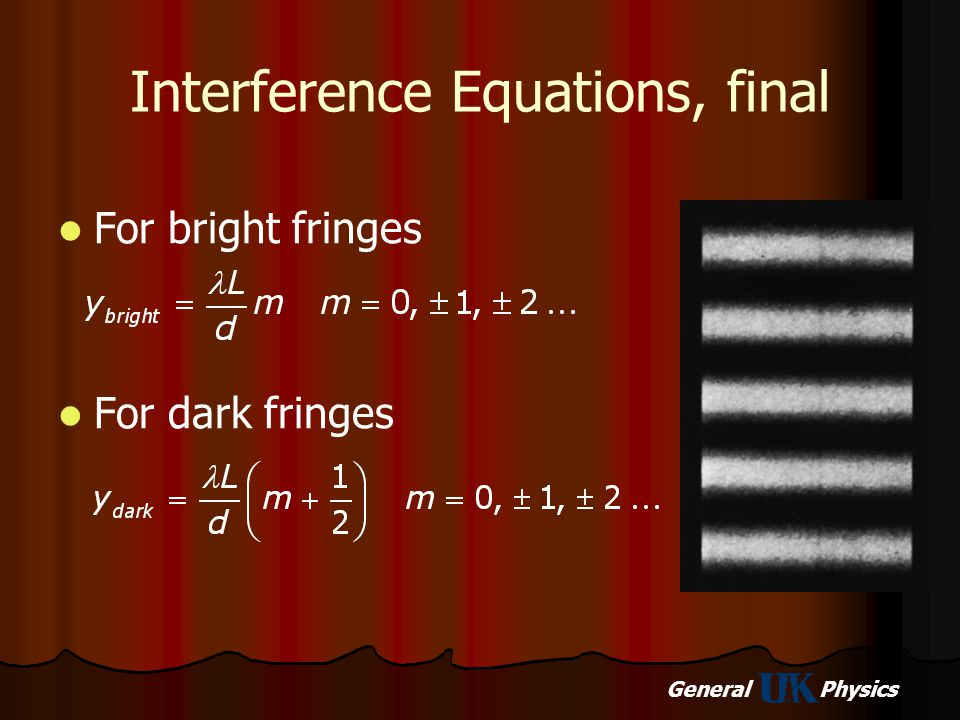 Interference Equations, final