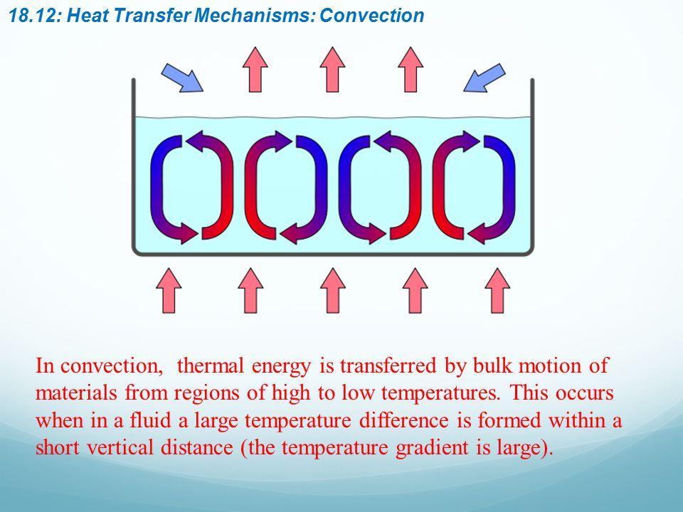 18.12: Heat Transfer Mechanisms: Convection
