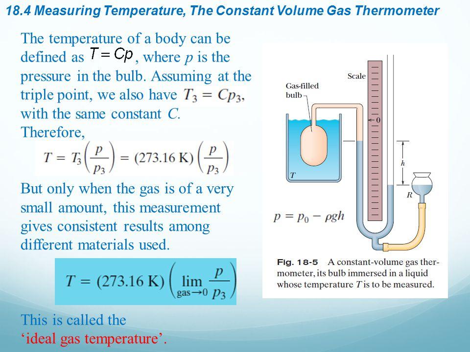 'ideal gas temperature'.