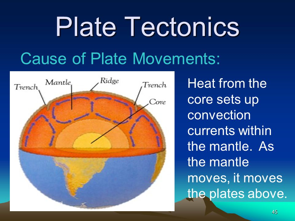 Plate Tectonics Cause of Plate Movements: