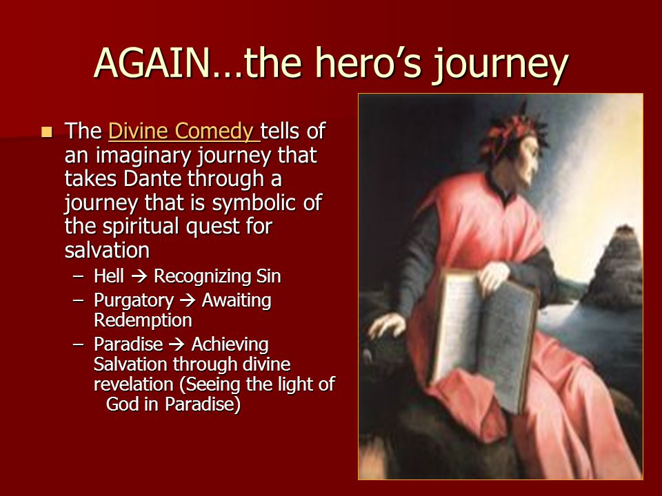 AGAIN…the hero's journey