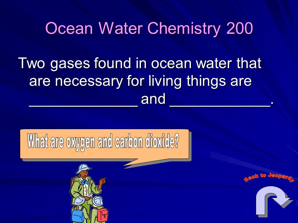 What are oxygen and carbon dioxide
