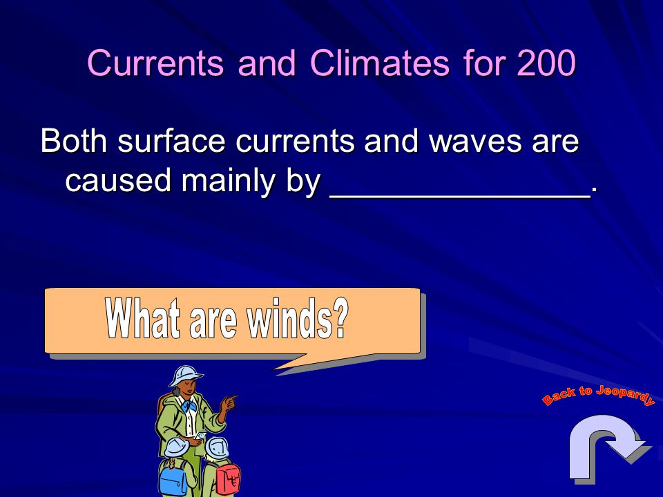 Currents and Climates for 200