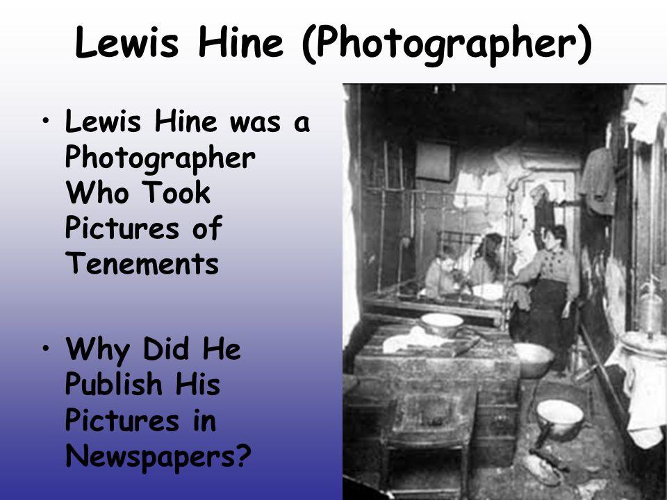 Lewis Hine (Photographer)