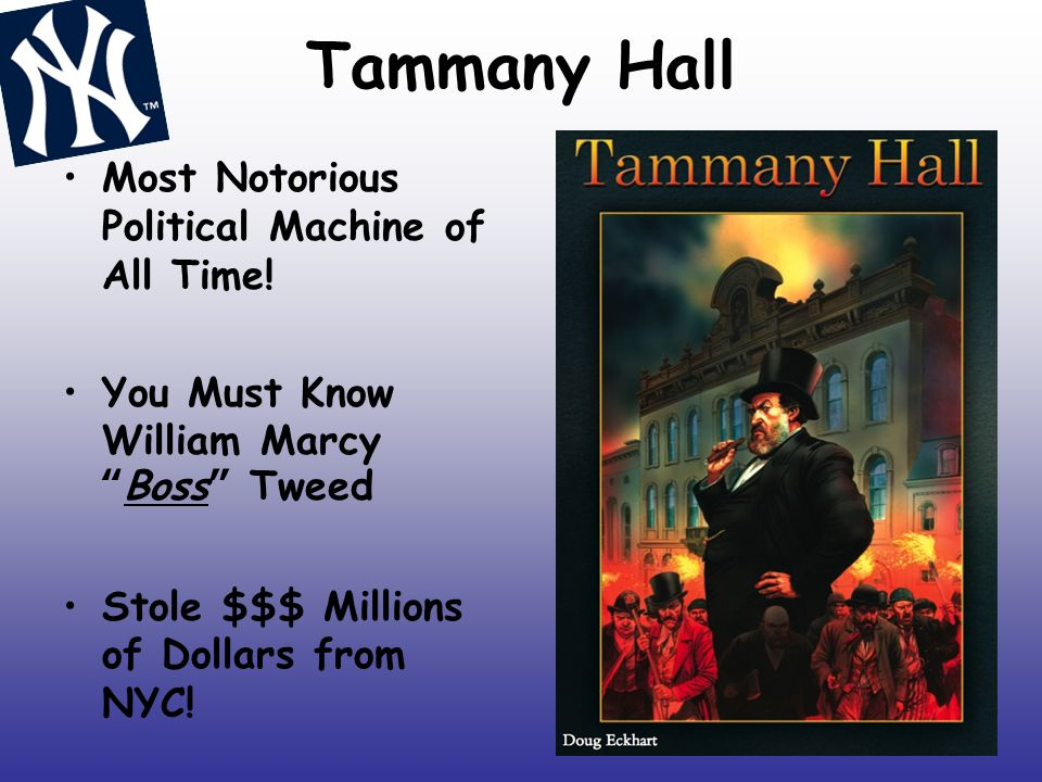 Tammany Hall Most Notorious Political Machine of All Time!