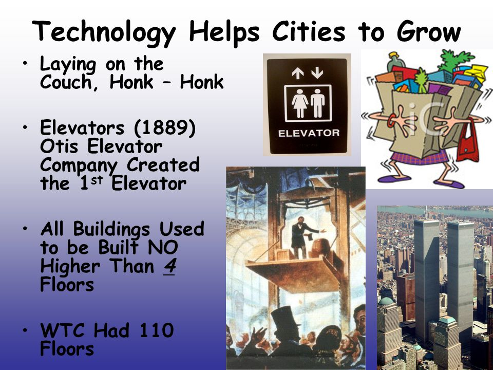 Technology Helps Cities to Grow