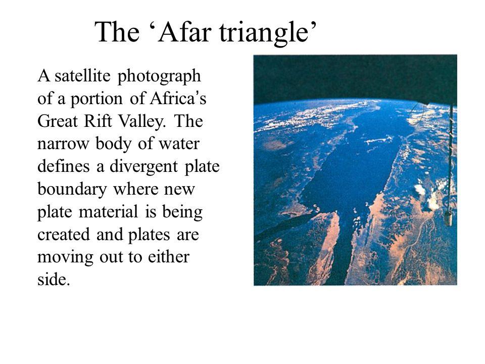 The 'Afar triangle'