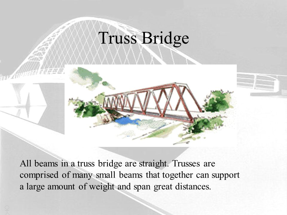 Truss Bridge Typical Span Lengths 40m - 500m World s Longest