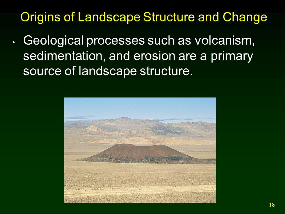 Origins of Landscape Structure and Change