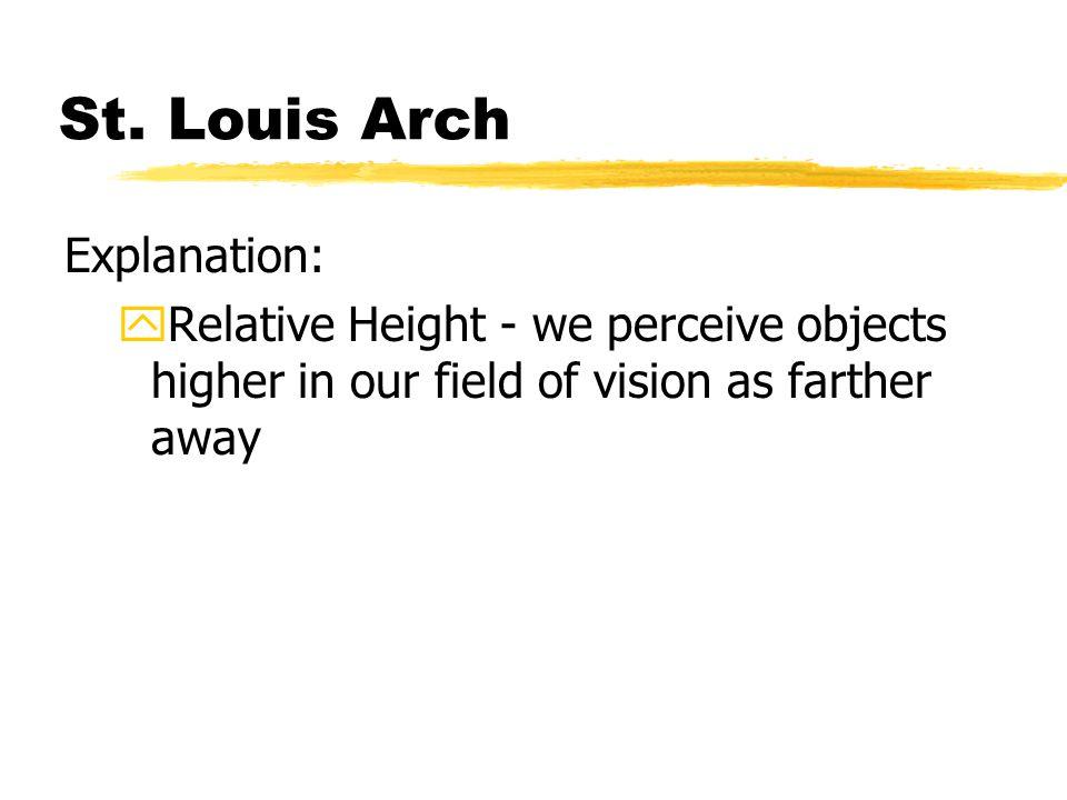 St. Louis Arch Explanation: