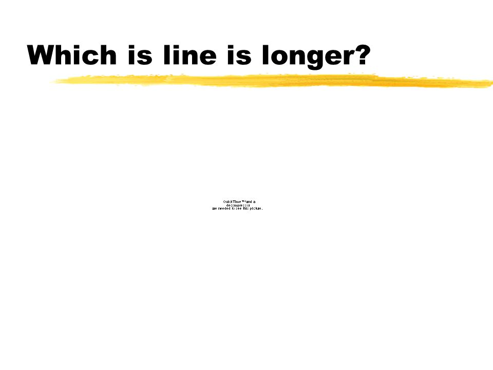 Which is line is longer