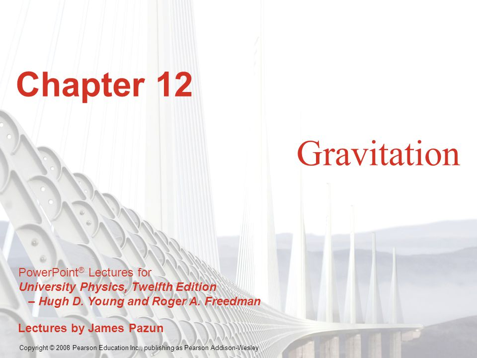 Chapter 12 Gravitation