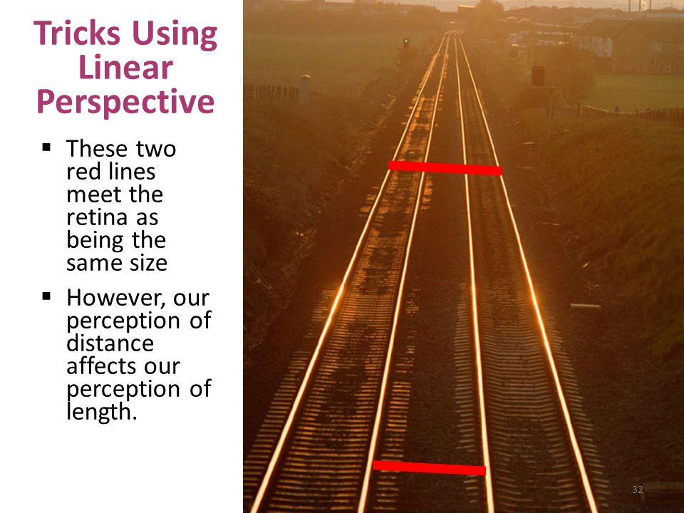 Tricks Using Linear Perspective
