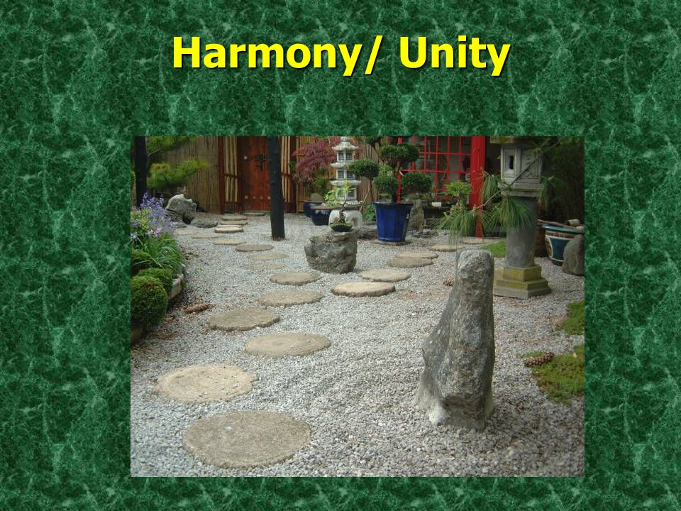 Harmony/ Unity