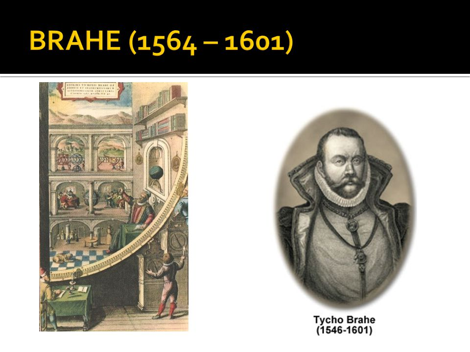 BRAHE (1564 – 1601)
